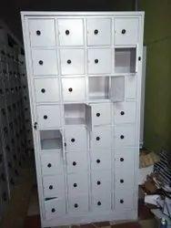 Gray Employee Personal Lockers