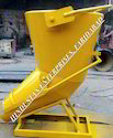 Side Discharge Tower Crane Lifting Concrete Bucket Cap 0.500 M3