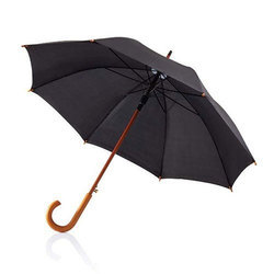 Black Wooden Umbrella