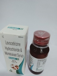 Levocetirizine Hydrochloride 2.5 Mg  Montelukast 4mg
