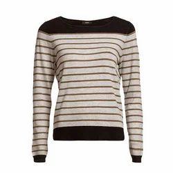 S And XL Ladies Fancy Sweatshirt