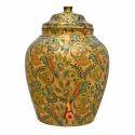 Copper Designer Water Container Pot Matka