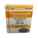 Pemetrexed Alimta 100 mg Injection