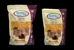 Simfed Channa Organic Chana Dal, Packaging Size: 1 Kg, Packaging Type: Packets