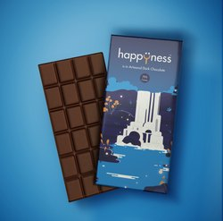 Happyness Artisanal Couverture Dark Chocolate (70% Cocoa)