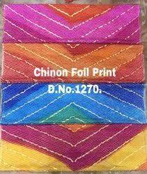 Bandhni Foil Print Fabric