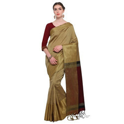 Plain Ladies Silk Saree