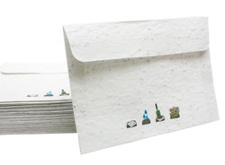 Lal10 Seed Paper Envelops, Rectangular, For Envelope