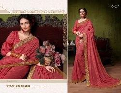 stylish fancy degsiner Wear sarees