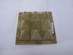 Stone Vastu Energy 9x9 Pyramid For House