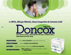 Paracetamol 325 Phenylephrine 5mg Caffine 30mg Tablets