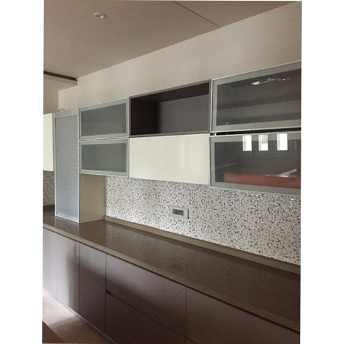 Modern Modular Kitchen Cabinets Rs 1400 Square Feet Bajaj Glass