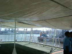 Helo Deck Safety Nets