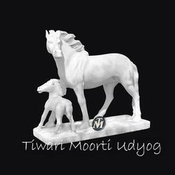 Horse Marble Statue