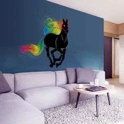 Wall Decor Rambo Horse Sticker 60x90, For Promotional Use, Pack Size: 26,5