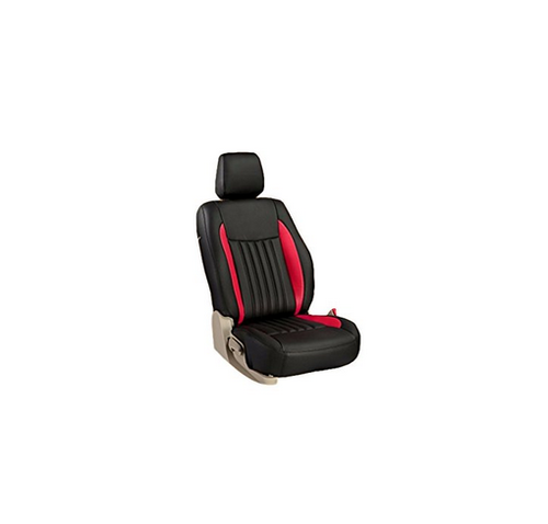 Unique Black And Red Car Seat Cover Single