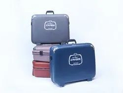 Hdpe Red Blackberry Crysta Moulded Suitcase, For Travelling, Size: 18'',20'' & 22