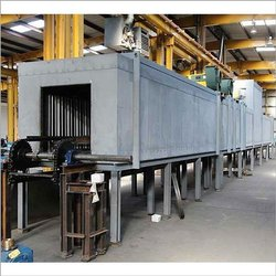 Horizontal Batch Type Oven