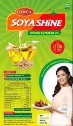 Refined Soyabean Oil (15 lit Tin)