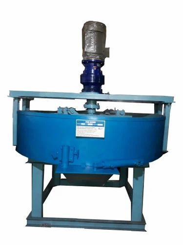 Pan Mixers - Pan Mixers 1 Bag /1/2 Bag -500 / 250 KG Exporter from Pune