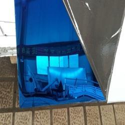 Blue Finish Stainless Steel Sheet