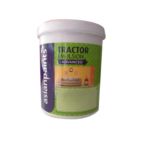 Asian Paints Tractor Emulsion Advanced Paint Packaging Type Bucket Rs 180 Litre Id 5851365791