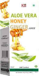 Aloe Vera Honey Ginger Juice