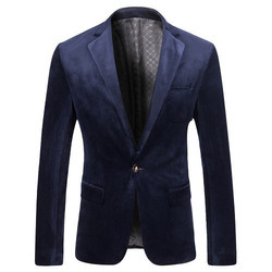Blue Mens Designer Blazer