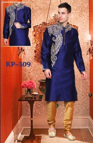 35eb7cb382 Silk Designer Indian Kurta Pajamas For Mens, Rs 1795 /piece(s)   ID ...