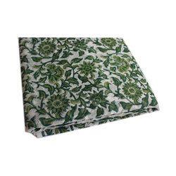 Jaipuri Block Print Floral Fabric