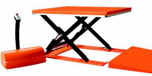 Agua Technology Low Profile Hydraulic Scissor Lift, Working Height: 860 to 870 mm, Capacity: 2-3 ton