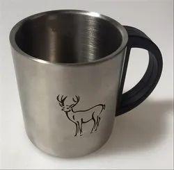 Steel Mug With Laser Marking