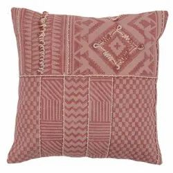 Embroidered Traditional Design Cotton Cushion Cover