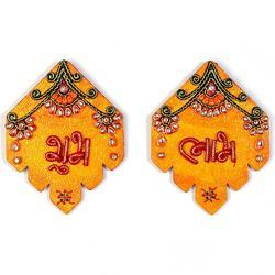 Kundan Work Shubh Labh Door Hangings 277