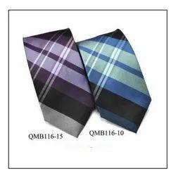 QMB116-10, QMB116-15 - Mens Tie (Micro Fibre)
