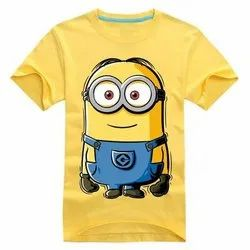 Half Sleeves Cotton Baby T Shirts