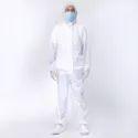 White Hazmat Suit