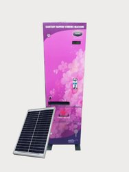 Sanitary Napkin Vending Machine Premium 100 Solar