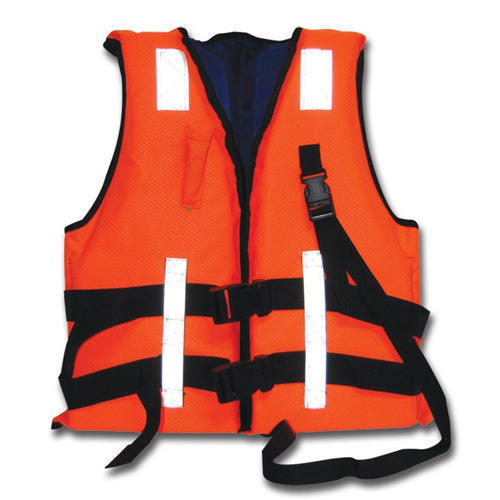 Red High Visibility Jackets Life Jacket