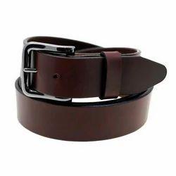 Brown Formal Wear Mens Leather Belt