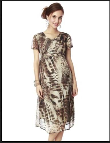181b52171e2 Nine Maternity Dress In Multicolor