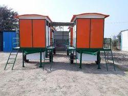 4 Seater Mobile Toilet Van