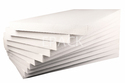 Battery Packaging White Thermocol Sheet