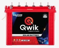 QWIK Tall Tubular Solar Battery 180AH