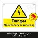 Hanging Lockout Signs