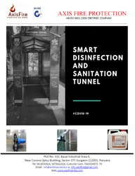 DISINFECTION AND SENITATION TUNNEL