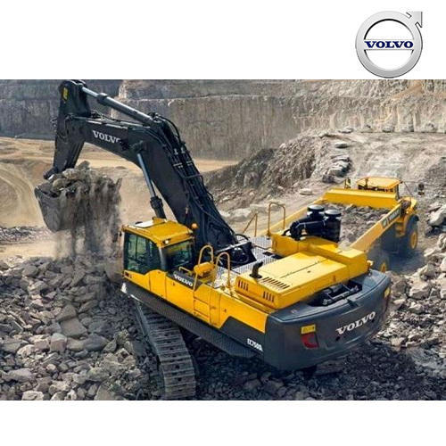 Volvo Large Crawler EC750D Excavators, Volvo Group India Private