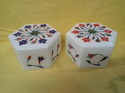 Decorative Inlay Work White Marble Box
