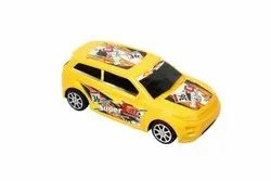 Yellow Toy Racing Car, No. Of Wheel: 4