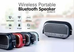 Oval Bluetooth Speaker With PU Carrying Strap